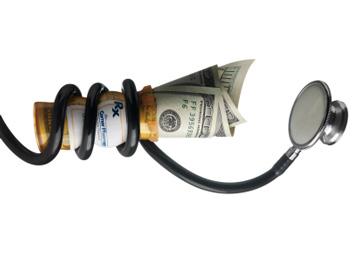 stethoscope-squeezing-money